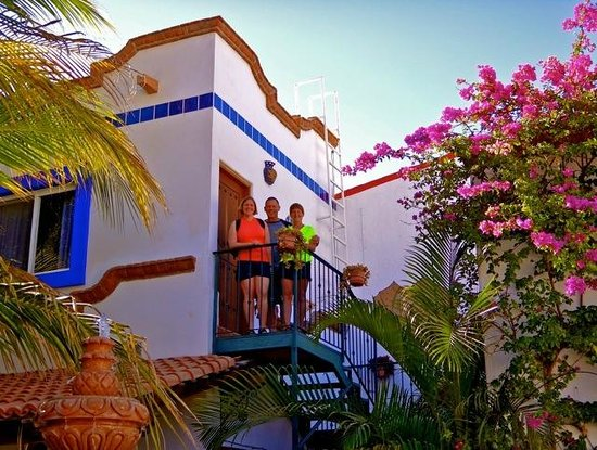 Hacienda Paraiso de La Paz Bed and Breakfast/Inn: Balcony from Hacienda