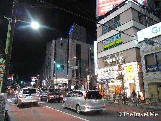 Hotel Sunroute Plaza Shinjuku: 酒店週邊