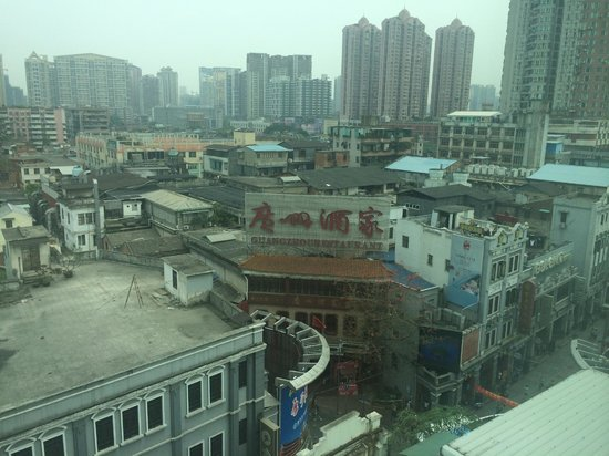 Holiday Inn Shifu Guangzhou: Old town view