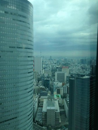 Conrad Tokyo: View looking out from room