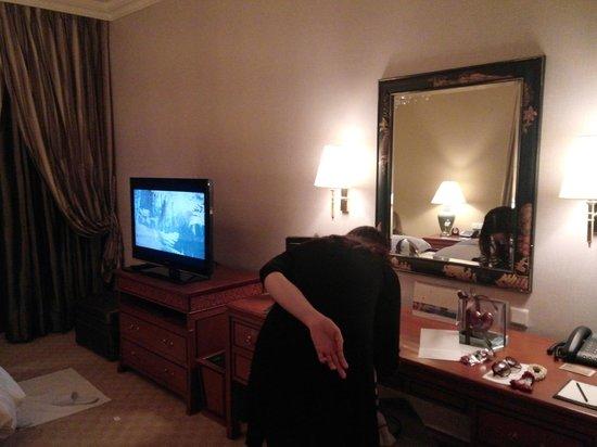 Shangri-La Hotel,Bangkok : Room at Krungthep Wing