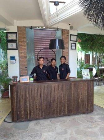 Rambutan Resort - Siem Reap : reception desk