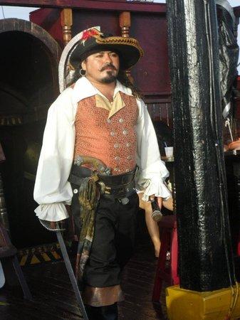 Jean Laffite Pirate Dinner Cruise: El Capitan - the MC