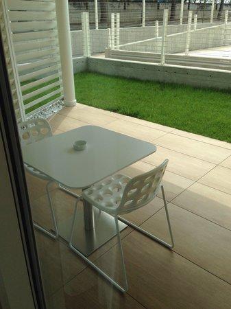Marina Verde Wellness Resort: Marina Verde Suite Agata mit Garten