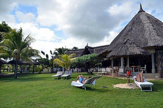 Tamassa: Restaurant de la plage