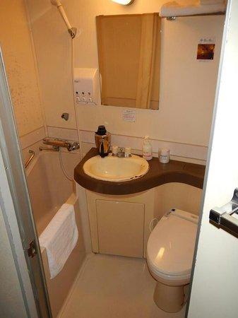 Hotel Brisbane's : Single room washroom