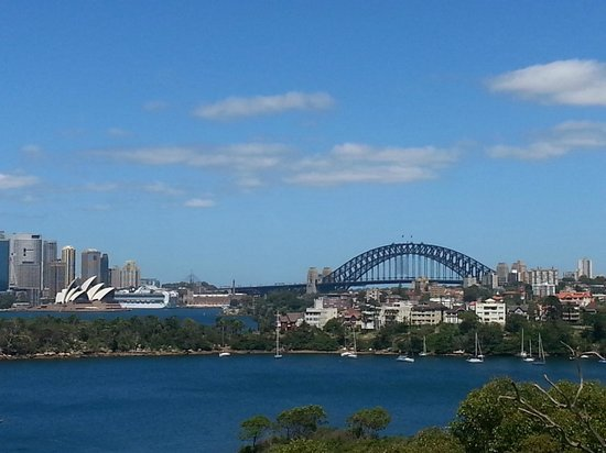 Metro Hotel Marlow Sydney Central: View from Taronga Zoo