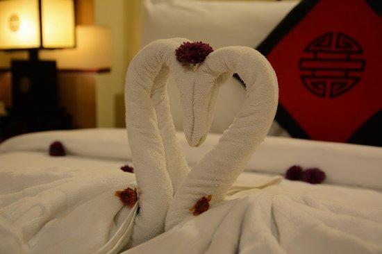 Thien Thanh Boutique Hotel : deco