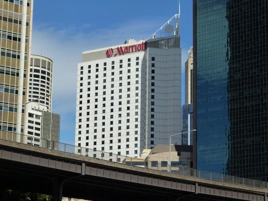 Sydney Harbour Marriott Hotel at Circular Quay: View of Hotel from Circular Quay