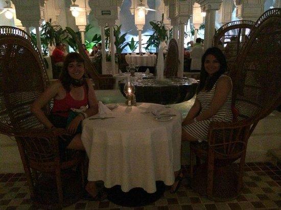 Krystal Ixtapa : Restaurante de lujo. No recuerdo cómo se llamaba.