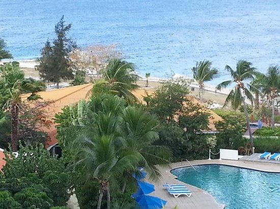 Hilton Curacao: View From Room Balcony