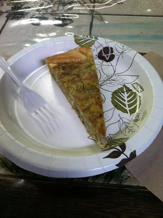 Foods of New York Tours: Italian Mushroom Crostata at Buon Italia