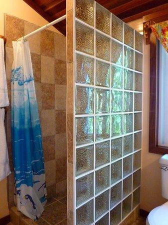 Colinda Cabanas : Room 9 shower
