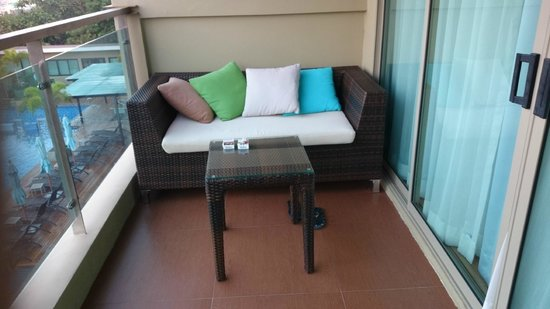 The Senses Resort: The balcony