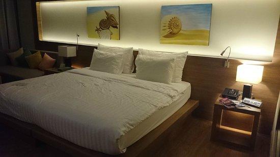 The Senses Resort: The room
