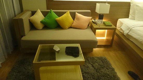 The Senses Resort & Pool Villas: Seating area