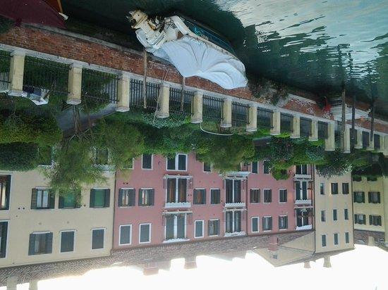 Hotel Giudecca Venezia : vista camera.