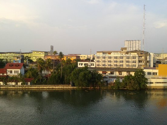 Star Plaza Hotel: view from veranda