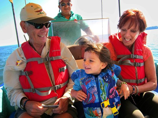 Go With Gus Tours: on the boat
