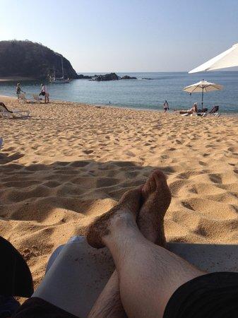 Secrets Huatulco Resort & Spa: Beautiful Private Beach.
