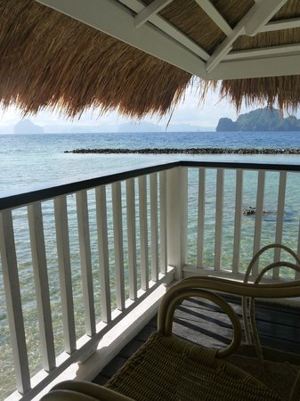 El Nido Resorts Miniloc Island: View from the Seaview Room