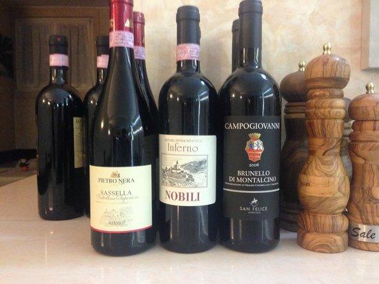 Hotel Monte Codeno: Vini
