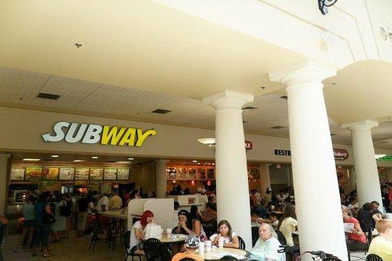 Subway, Las Americas Premium Outlets