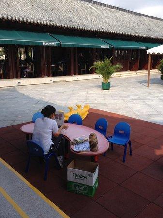 Huayu Resort and Spa Yalong Bay Sanya: Детский уголок при ресторане