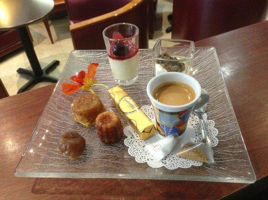 Hotel de France : Café Gourmand