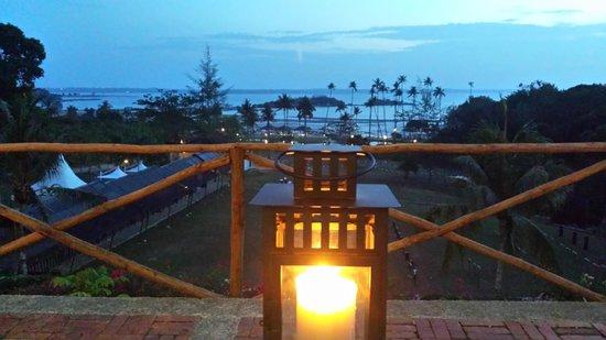 Nirwana Gardens - Nirwana Resort Hotel : View from restaurant