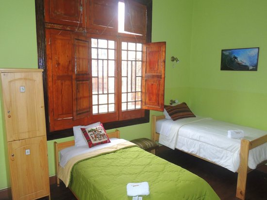 Lima Wari Hotel Boutique: Private rooms with shared bathroom
