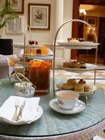 The Imperial Hotel: High Tea Imperial Hotel New Delhi