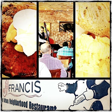 St. Francis: collage