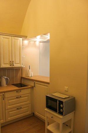 Skapo Apartments: Кухня