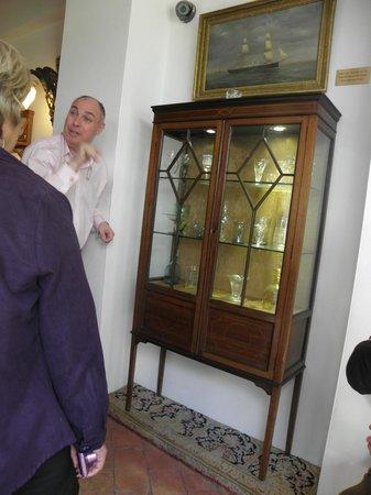 Musée du Verre et Cristal : during the tour