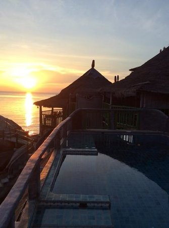 Charm Churee Villa: Sunset Bamboo Hut, Koh Tao