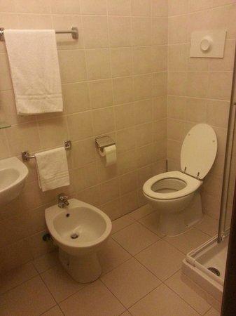 Hotel dore' : Il bagno