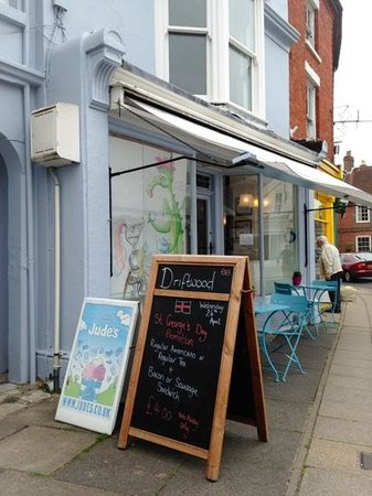 Driftwood Cafe: A Welcoming Sight On A Special Day