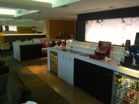 Sheraton Palace Hotel Moscow: club lounge
