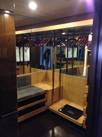 Hilton Beijing Wangfujing: cloakroom