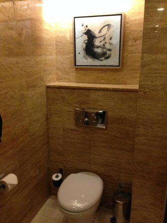 Hilton Beijing Wangfujing : toilet