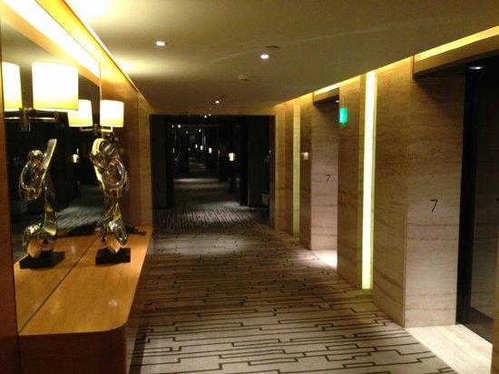 Hilton Beijing Wangfujing : corridor
