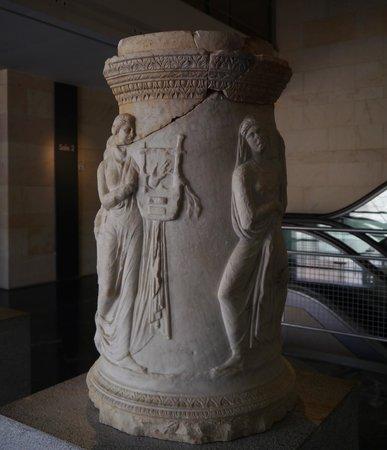 Teatro Romano: DETALLE DEL MUSEO