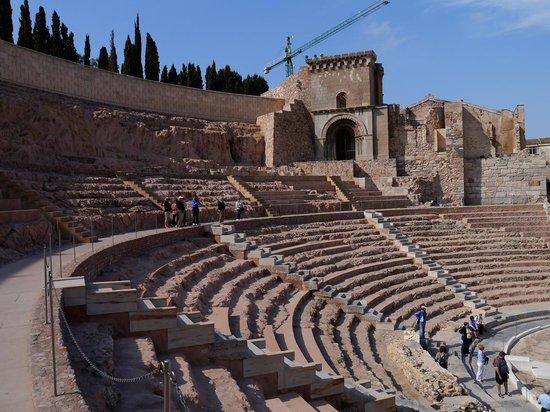 Teatro Romano: LAS GRADAS