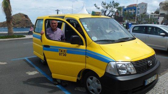 Savoy Calheta Beach: Joao et son taxi