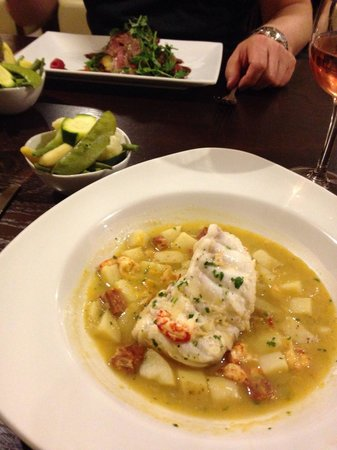 The Crown Spa Hotel: Monk fish