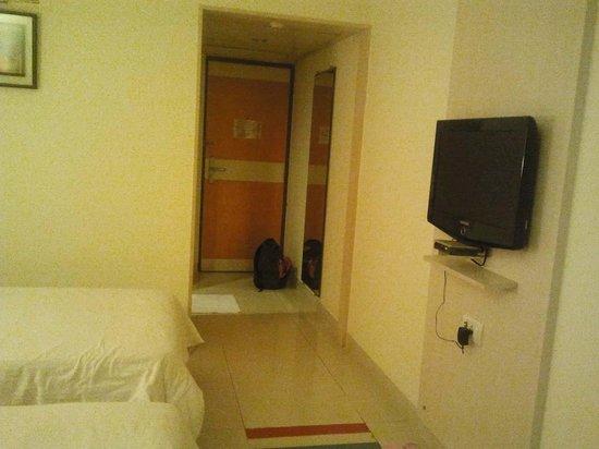 Aditya Hometel : Door of room