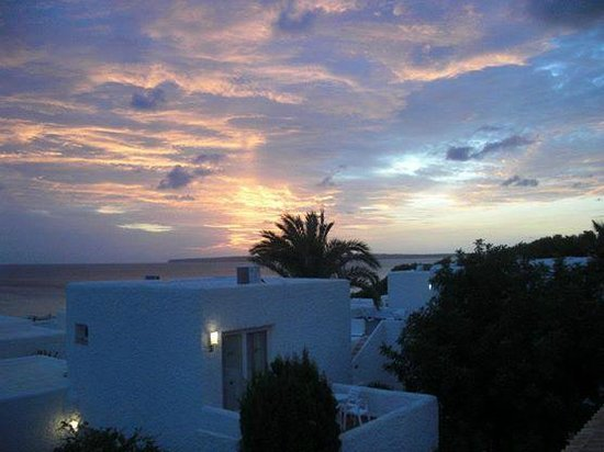 Hotel Riu La Mola: Nach dem Sonnenuntergang