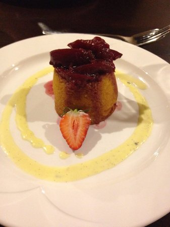 The Crown Spa Hotel: Sponge pudding