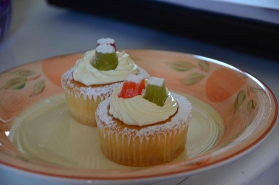 Serendipity Bed and Breakfast: Willkommens-Cupcakes